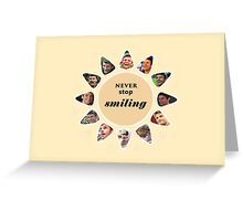 Thomas Müller, Never Stop Smiling Greeting Card
