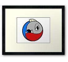 Piranaton! Framed Print