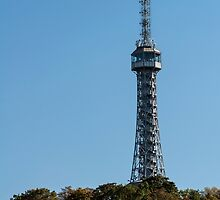 Petrin lookout tower, Prague. by FER737NG