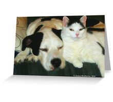 Brothers From Different Mothers Greeting Card