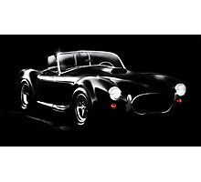 Shelby Cobra Photographic Print