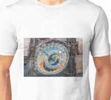 Astronomical clock, Prague. Unisex T-Shirt