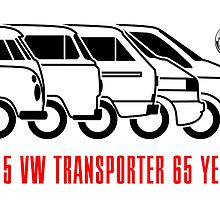 VW Transporter - 'T-volution' by car2oonz
