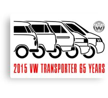 VW Transporter - 'T-volution' Canvas Print