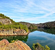 Carter's Lake, Chatsworth, Georgia, USA by Scott Mitchell