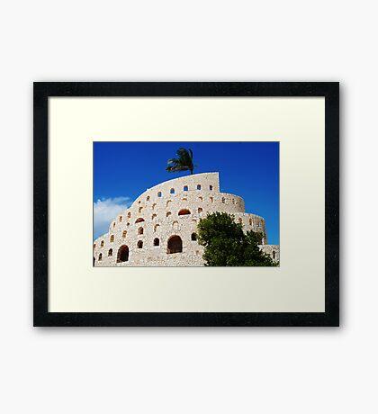 Mayan Theater Framed Print