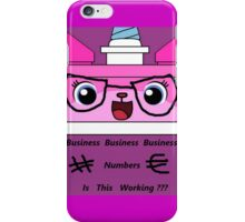 Business Unikitty iPhone Case/Skin
