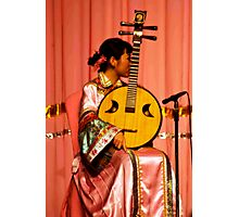 Four Stringed Beauty Photographic Print