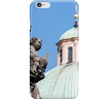 Virgin Mary statue. iPhone Case/Skin