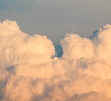 Orange Cloudscape Horizontal by Inimma