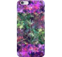 Abstract puzzle iPhone Case/Skin