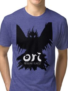 Ori and the Blind forest- Evil owl Tri-blend T-Shirt