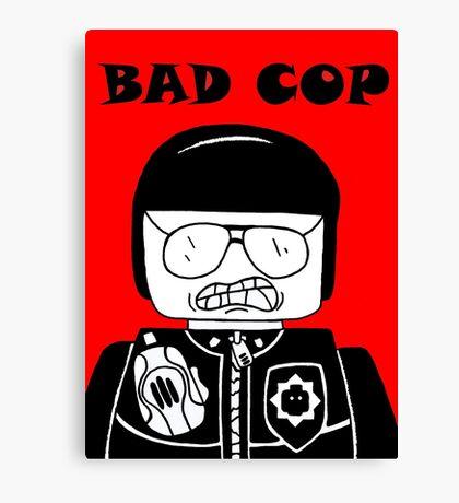 Lego Bad Cop Canvas Print