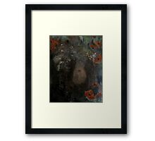 ophelia's mirror Framed Print