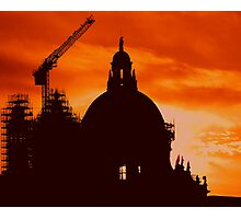 HOLY CONSTRUCTION Photographic Print