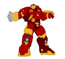 Avengers: Age Of Ultron - Hulkbuster  by rorkstarmason