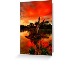 """Sundown at Balyang"" Greeting Card"