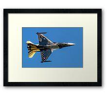 TUSAS-GD F-16C Fighting Falcon 91-0011 Framed Print