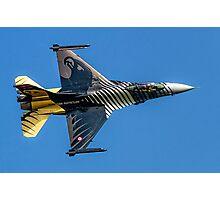 TUSAS-GD F-16C Fighting Falcon 91-0011 Photographic Print