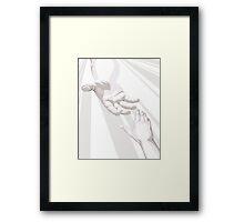 Hand Of God Framed Print