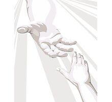 Hand Of God Photographic Print
