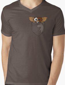 Gizmo In A Pocket Mens V-Neck T-Shirt