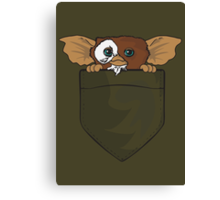 Gizmo In A Pocket Canvas Print