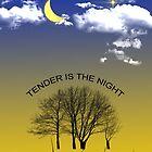 Tender is the night by JoAnnFineArt