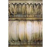 carved pillar Photographic Print