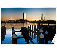0784 Docklands at Dusk    [e] Poster