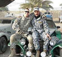 Saddams Sons Captured Cars  Baghdad by Dennis Begnoche Jr.