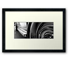 sting ray Framed Print