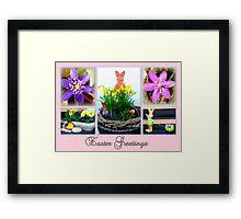 Easter Greetings Framed Print