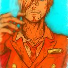 One Piece - Sanji [no text] by Sven from OZ