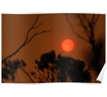 Smoke sun Poster