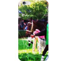 Day At The Races iPhone Case/Skin