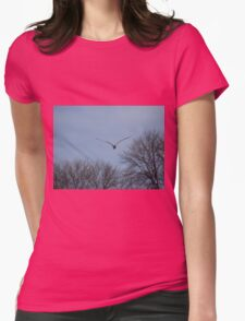 Seagull Over Trees T-Shirt