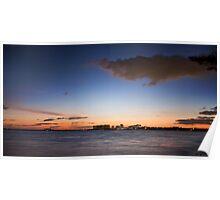 A beautiful Florida winter sunset Poster