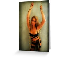 """""""I'm in Chains"""" Greeting Card"""