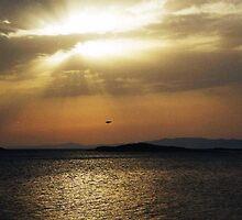 stormy sunset mljet 5 by dobayferenc
