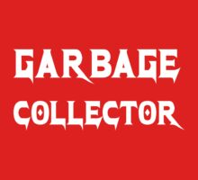 Garbage Collector - Black Metal Style Programmer Shirt Kids Clothes