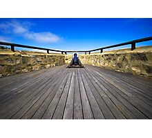 Ye Old Cannon Photographic Print