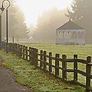 Fort Vancouver Gazebo by Randy Richards