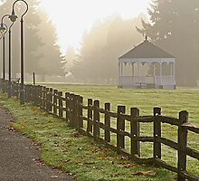 Fort Vancouver Gazebo by Randy Richards