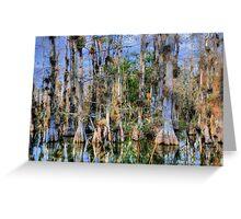 Cypress Garden Greeting Card