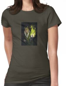 Agent of Himself Womens Fitted T-Shirt
