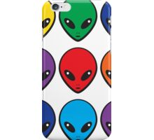 Rainbow Aliens iPhone Case/Skin