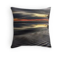 Grey Sunrise Throw Pillow