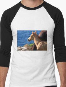 Colt By The Sea Men's Baseball ¾ T-Shirt