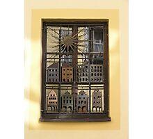 A Czech window Photographic Print